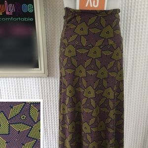 LuLaRoe Maxi Skirt NWT